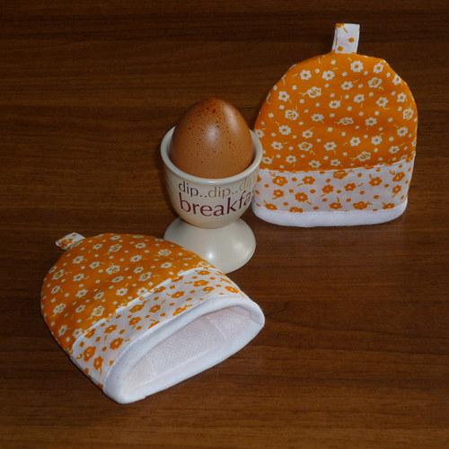 čepička na vajíčko...