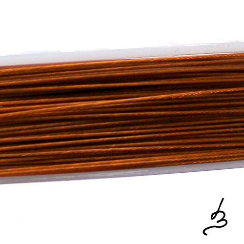 Ocelové lanko měděné 0,45