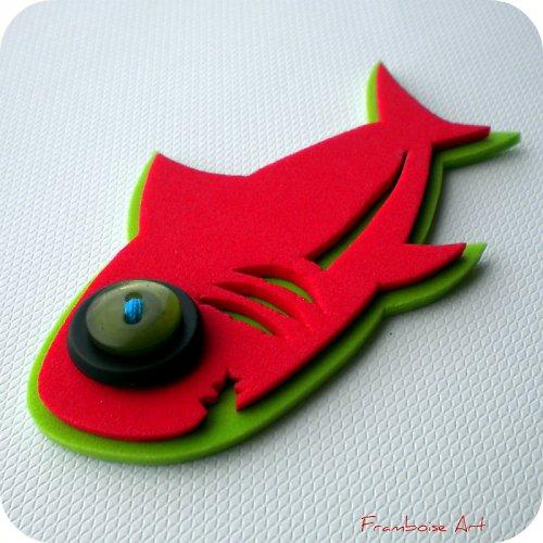 Červeno zelený žralok