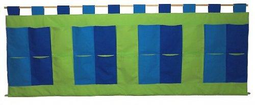Kapsář za postel Modro - zelený 200 x 70cm CV1
