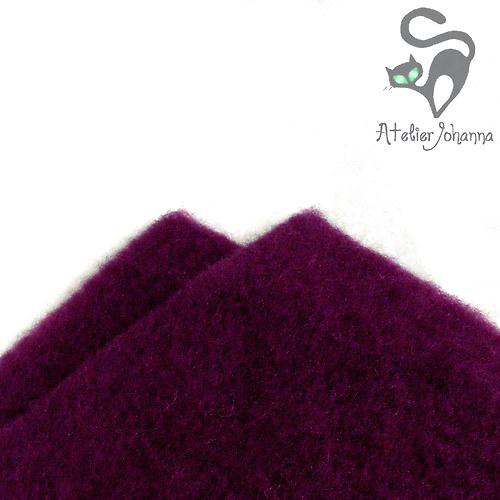 Prefelt purpurová