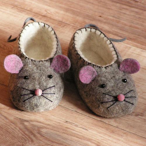 Dětské botky - Myšky