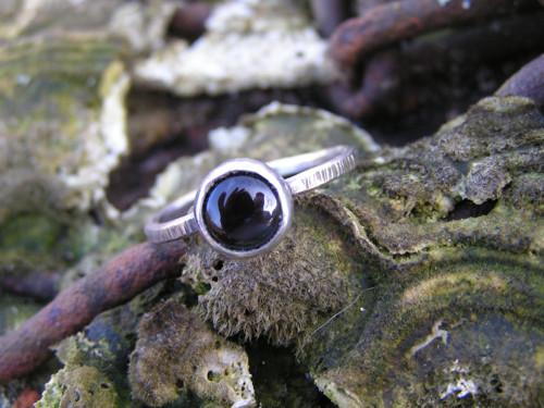 Prsteň Ag 925 Ónyx