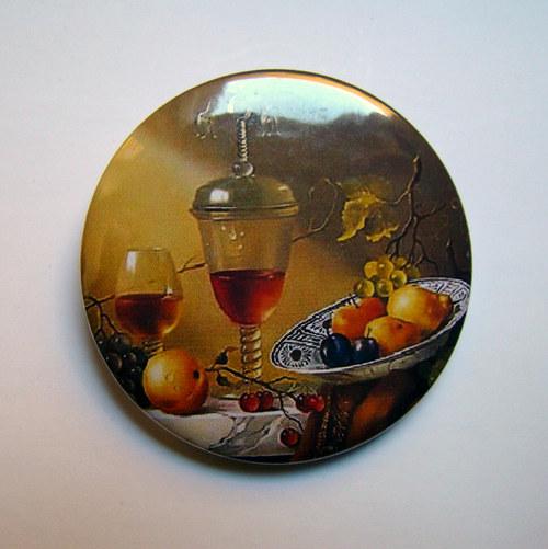 ZÁTIŠÍ.. - placka - button - 44 mm