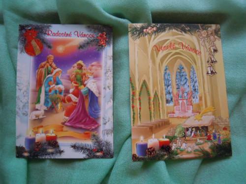 Vánoční pohlednice č.4