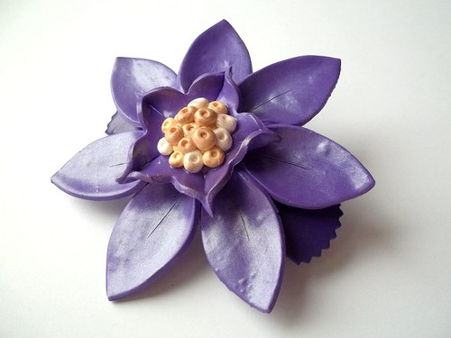 Květina do vlasů III.