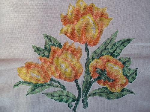 tulipány na zeď SLEVA