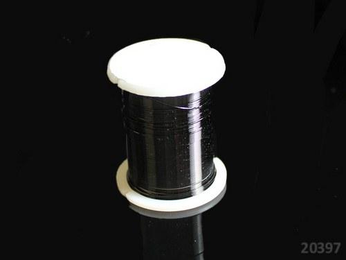 20397-B25 Bižuterní drát 0.3mm ČERNÝ, cív. 10m