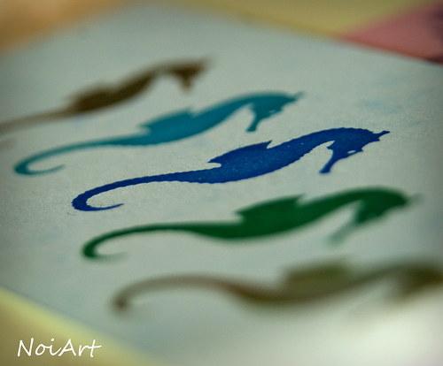 Razítko morský koník