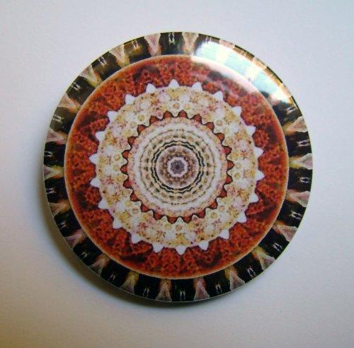 MANDALA 2 - placka - button - 44 mm