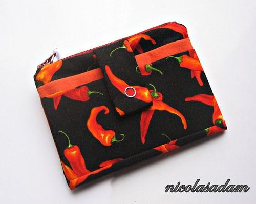 Peněženka a pouzdro - na mobil i na doklady :)
