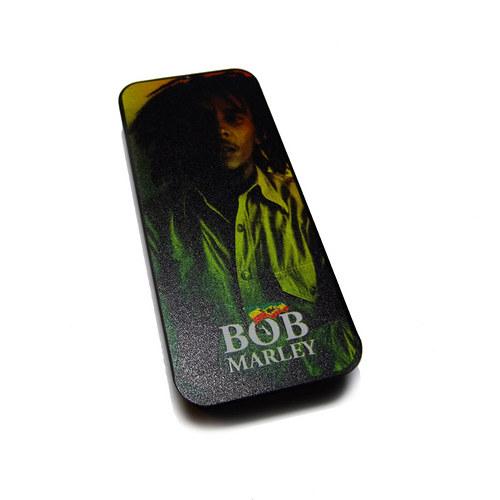 Plechová krabička Bob Marley - rasta
