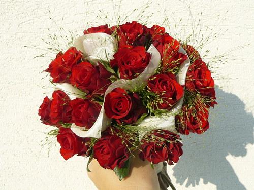 Svatební  - červená