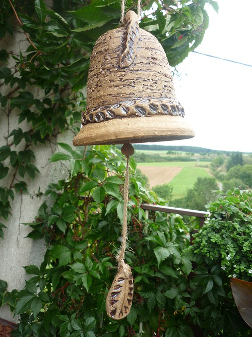 Keramický zvon - 17cm