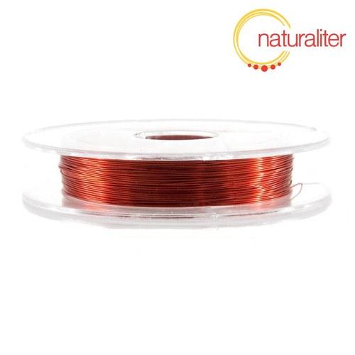 Lakovaný měděný drátek 0,3mm červený - 10m
