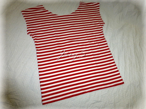 Pruhované triko
