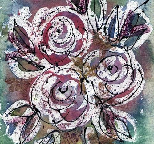Růže ve váze