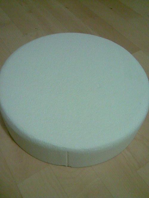 Korpus kulatý 32 x 8 cm - válec polystyren