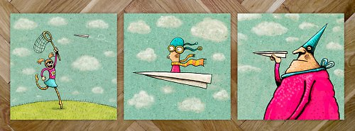 Paperplane Trio - tisk