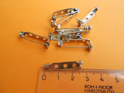 Špendlík, brož, 25*5mm, 10 kusů = 25Kč