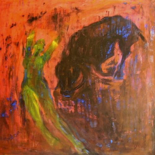 Tanečnice s býkem