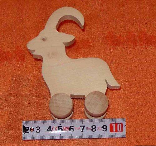 kozel - dřevěná hračka