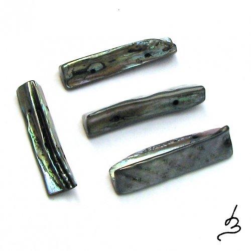 Perleťové tyčky tmavé - 5 ks