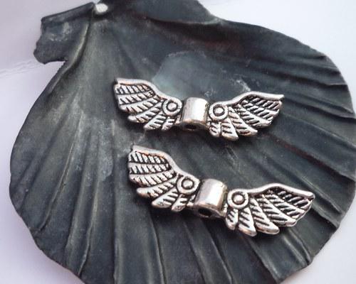 andělská křídla - letící - 2 ks