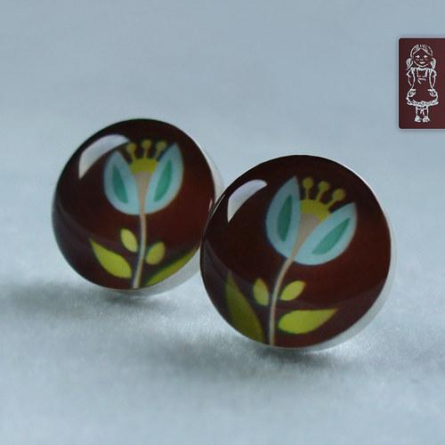 Tulipánky - stříbro