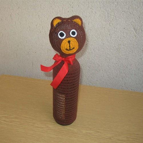 Ozdoba na láhev-medvídek