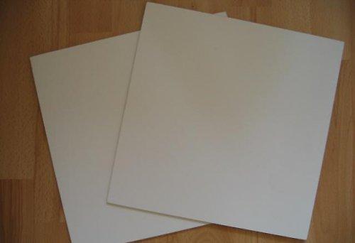 10 ks - sololaková destička bílá 16x16 cm