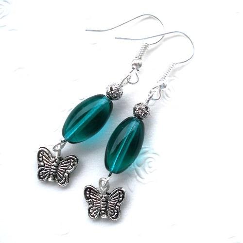 Zelené s motýlkem - SLEVA !!!