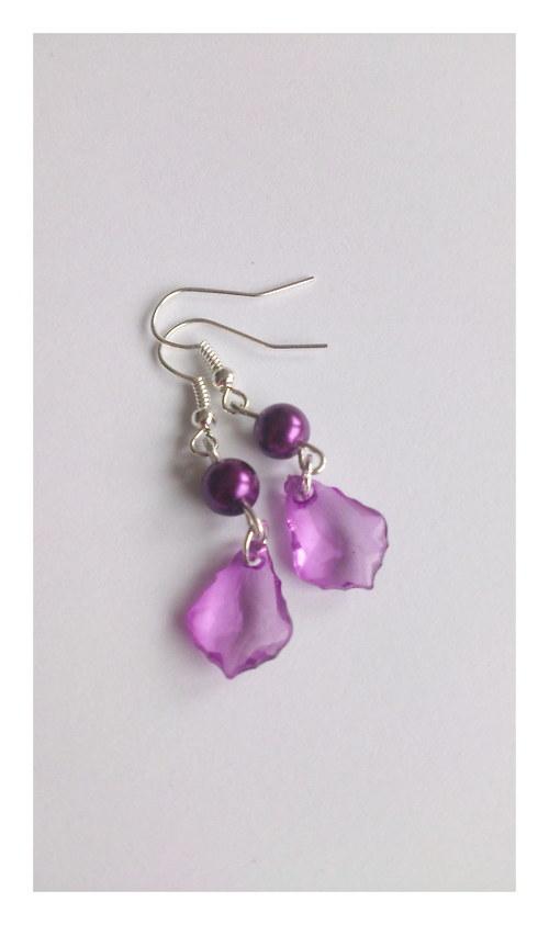 Slzičky fialové