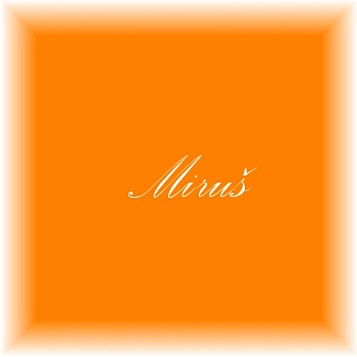 100% bavlna, metráž, látka-Oranžová č.770