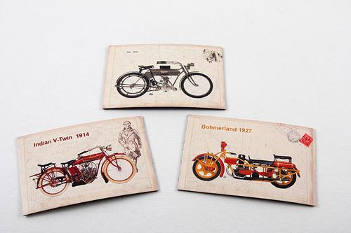 Magnetky - motorky