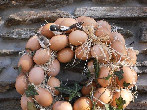 Věnec z vajec