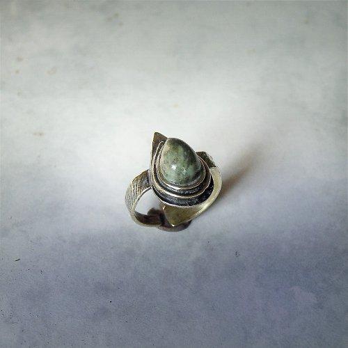 Mosazný prsten Green