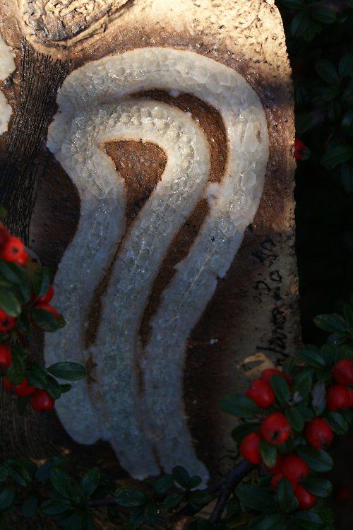 Anděl velký - skleněná křídla