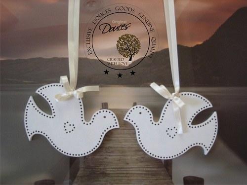 holubičky svatební