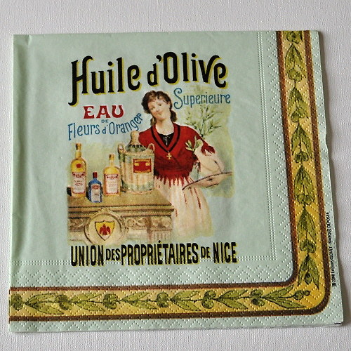 Ubrousek - Huile d´Olive