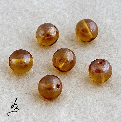 Kuličky medové 8 mm - 15 ks