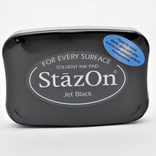 StazOn inkoustový polštářek / černý