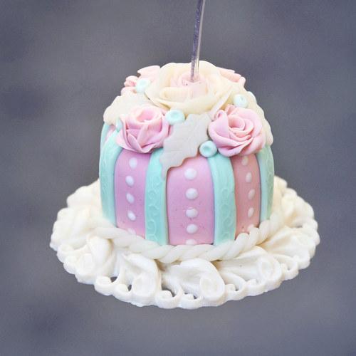 Luxusní dort - vzkazovníček