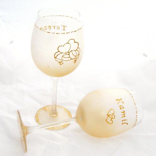 Svatební skleničky - malá