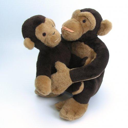 Opičátko výrostek- autorská hračka