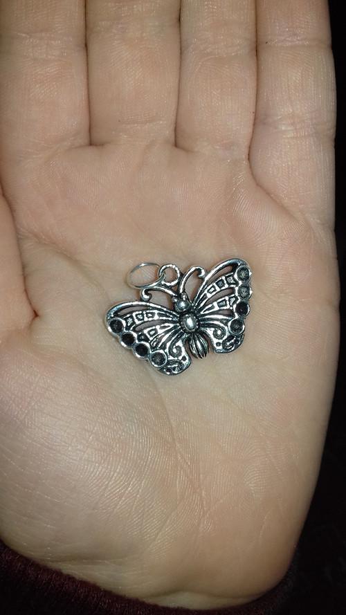 Přívěsek motýlek k mexické bole