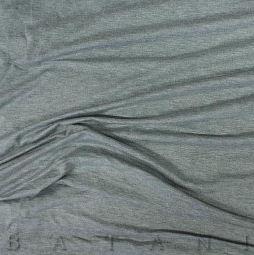 Viskózový úplet šedý melír