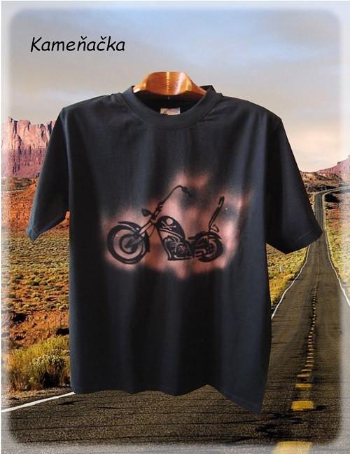 Pánské tričko-motorka  Harley