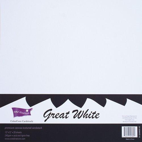 Sada 4 čtvrtek Bílá ColorCore