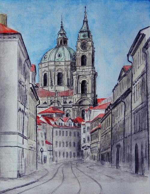 Chrám svatého Mikuláše v Praze